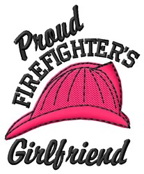 Proud Girlfriend embroidery design