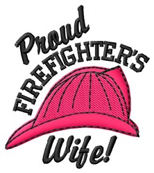 Proud Wife embroidery design