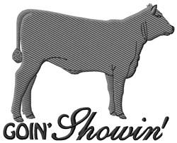 Goin Shopwin embroidery design