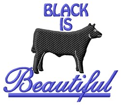 Black Is Beautiful embroidery design