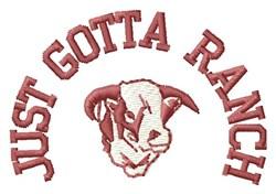 Gotta Ranch embroidery design