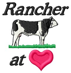 Rancher At Heart embroidery design