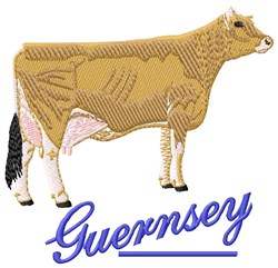 Guernsey embroidery design