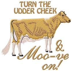 Turn Udder Cheek embroidery design