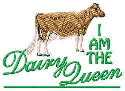 Dairy Queen embroidery design