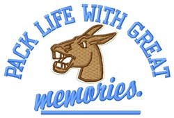 Great Memories embroidery design