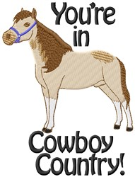 Cowboy Country embroidery design
