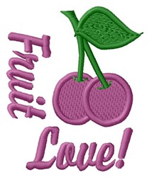 Fruit Love embroidery design