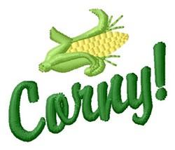 Corny embroidery design