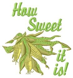 Sweet Corn embroidery design