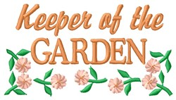 Garden Keeper embroidery design