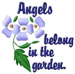 Angels Garden embroidery design