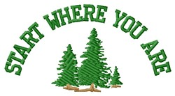 Where You Are embroidery design