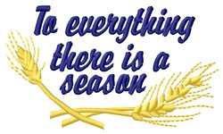 A Season embroidery design