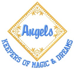 Magic Angels embroidery design