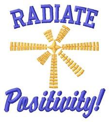 Radiate Positivity embroidery design