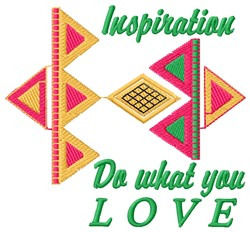 Inspiration embroidery design
