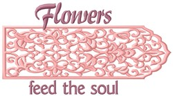 Feed The Soul embroidery design