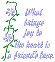 Joy To Heart embroidery design