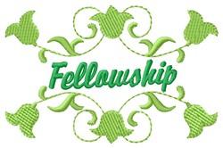 Fellowship embroidery design