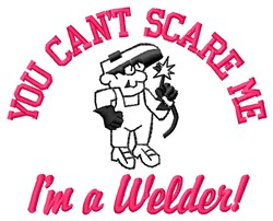 Im A Welder embroidery design