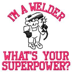 Welder Superpower embroidery design