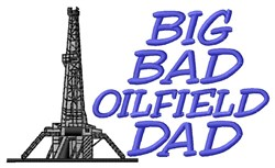 Oilfield Dad embroidery design
