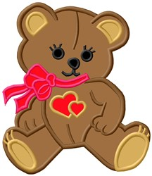 Teddy Bear embroidery design