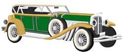 Antique Car Applique embroidery design