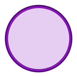 Purple Circle embroidery design