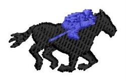 Race Jockey embroidery design