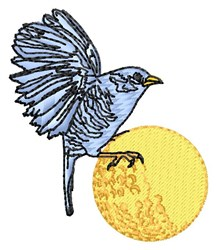 Birdie embroidery design