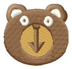 Bear Face embroidery design