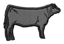 Steer Cow embroidery design