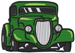 Street Rod embroidery design