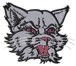 Wildcat Head embroidery design