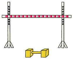 Agility Equipment embroidery design
