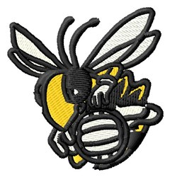 Hornet Volleyball embroidery design