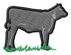 Calf embroidery design