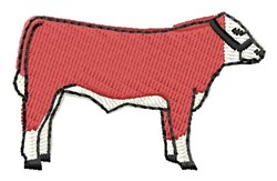 Hereford embroidery design