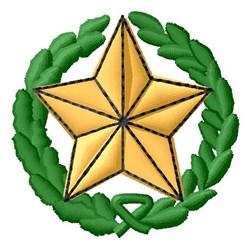 Star Wreath embroidery design