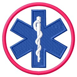 Star of Life embroidery design