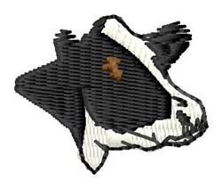 Holstein embroidery design