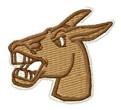Mule Head embroidery design