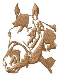 Horse Head embroidery design