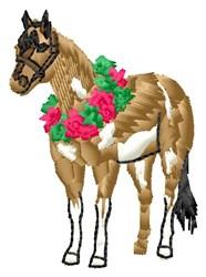 Horse Winner embroidery design