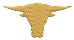 Longhorn Head embroidery design