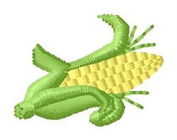 Corncob embroidery design