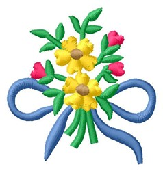Flower Bouqet embroidery design