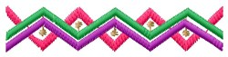 Southwest Triangles embroidery design